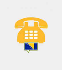 Bosnia toll-free number
