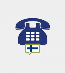 Finland toll-free number