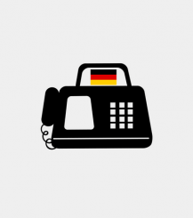 Germany fax number